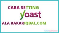 cara setting yoast seo