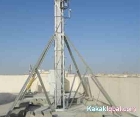 contoh tower bts pole