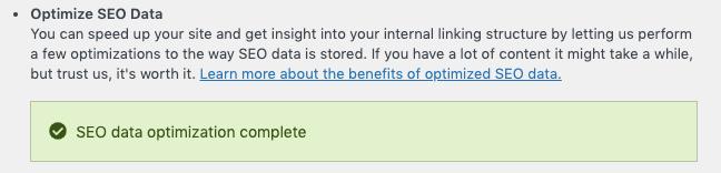 optimize seo data yoast wordpress